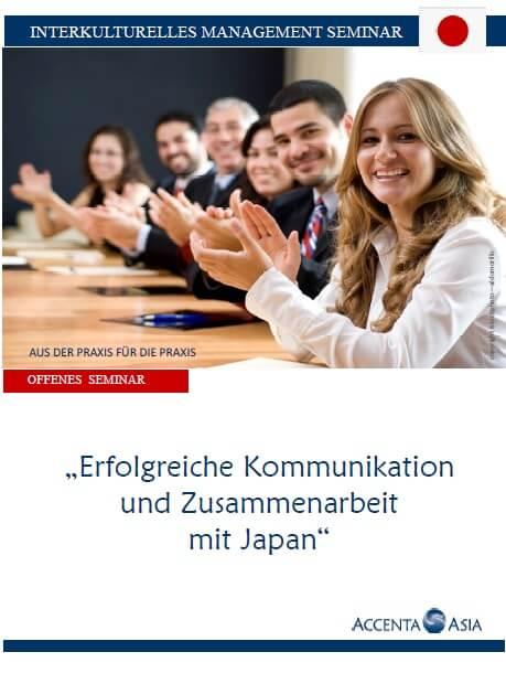 Seminarinformation Interkulturelle Kommunikation und Zusammenarbeit Japan